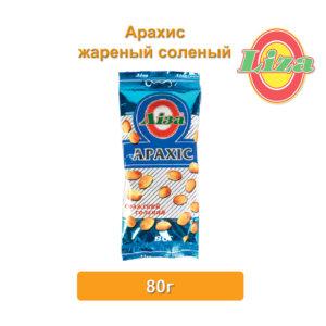Арахис жареный соленый 80г купить